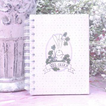 Notizbuch im coolen Design Viel Glück