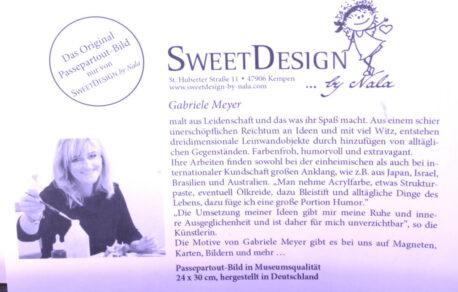 SweetDesign by Nala Passpartout Bild A Star Is Born