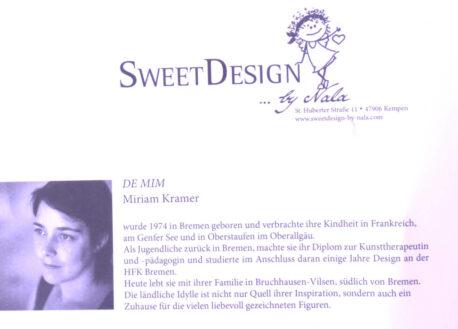 SweetDesign by Nala Passpartout Bild Du Lügst!