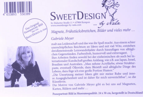 SweetDesign by Nala Passpartout Bild to do 10Uhr Käffchen