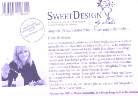 SweetDesign by Nala Passpartout Blind Date