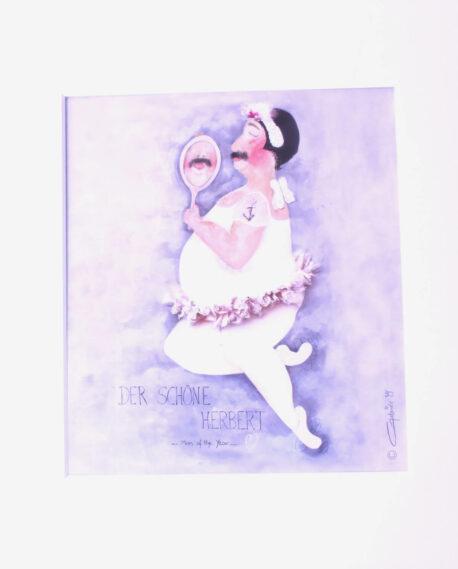 SweetDesign by Nala Passpartout Der Schöne Herbert