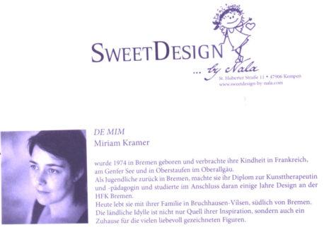 SweetDesign by Nala Passpartout Scheiße, Oh oh Du Musst Positiv Denken