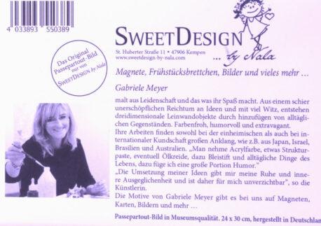 SweetDesign by Nala Passpartout born to be wild