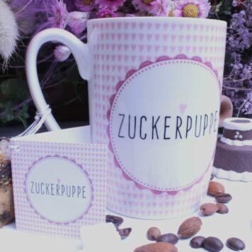 PPD Henkelbecher Sprüche Tasse Spruch Zuckerpuppe