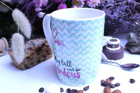 PPD Henkelbecher Sprüche Tasse stay tall and be fabulous