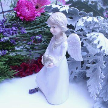 Dekofigur Engel Schutzengel Angel Heart