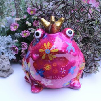 Pomme Pidou Spardose Frosch Freddy Flower Bird