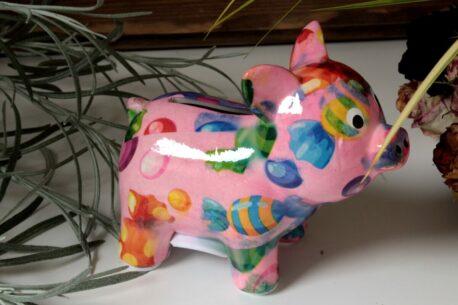 Pomme Pidou Spardose Mini Schweinchen Babette Rosa