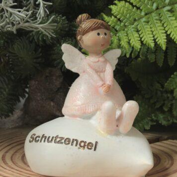 Dekofigur Engel Kantenhocker Schutzengel Herz