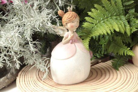 Dekofigur Engel Schutzengel Sina mit Herz