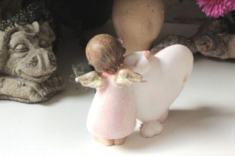 Dekofigur Engel Schutzengelchen mit Herz