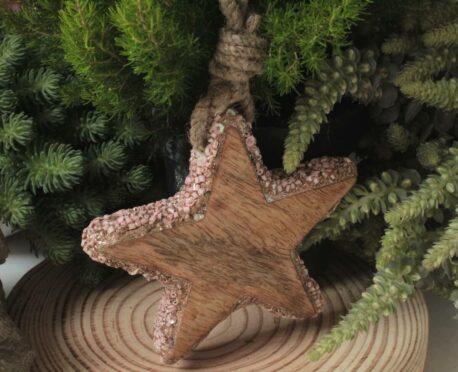 Weihnachtsstern Holzstern Zauberhafte Weihnachten 12cm ∅