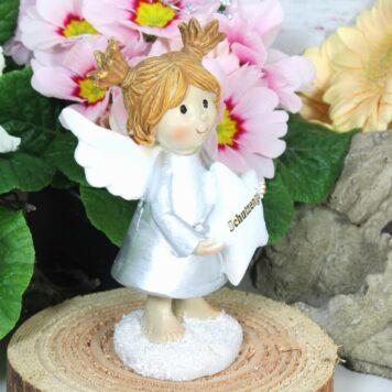 Dekofigur Engel Schutzengel Sternchen