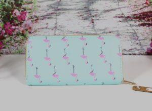 Geldbörse Portemonnaie Damen Flamingo 50% Sparen