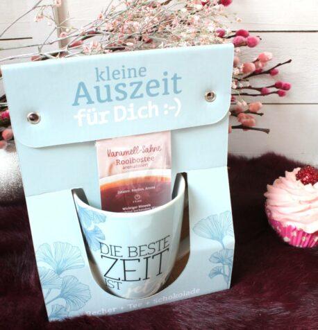 Henkelbecher Kaffeetasse Kleine Auszeit Die Beste Zeit Ist jetzt