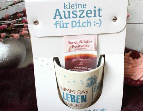 Henkelbecher Kaffeetasse Kleine Auszeit Nimm Das Leben Leicht