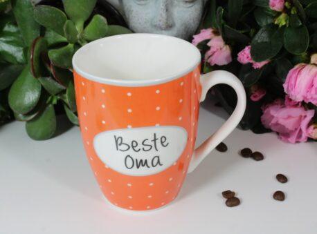 Henkelbecher Sprüche Kaffeetasse Beste Oma