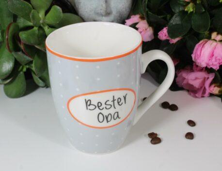 Henkelbecher Sprüche Kaffeetasse Bester Opa