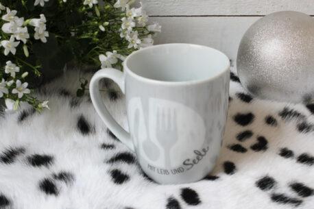 Henkelbecher Sprüche Kaffeetasse Mit Leib Und Seele