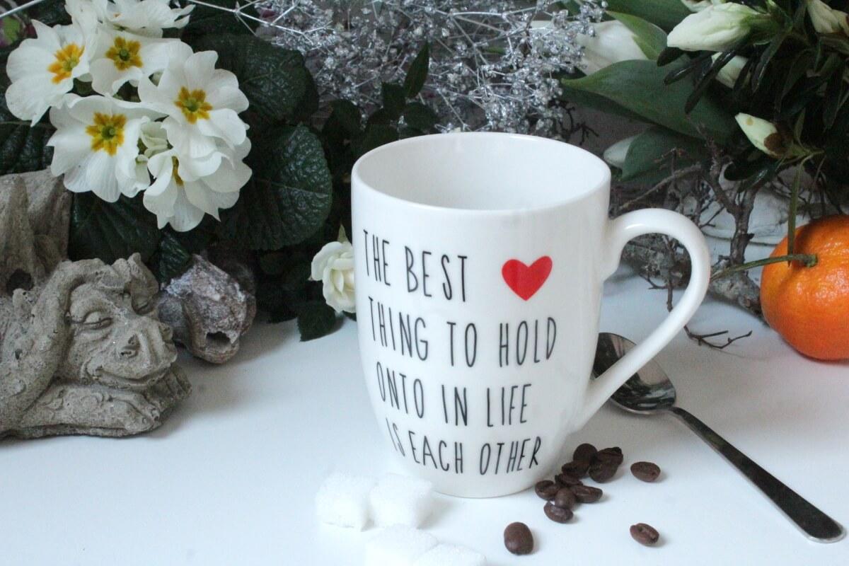I love RECKLINGHAUSEN  Tasse Kaffeetasse