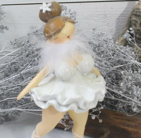 Ballerina Mädel Curvy Mollig Dekofigur Tänzerin Sweet