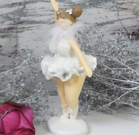 Ballerina Mädel Curvy Mollig Dekofigur Tänzerin