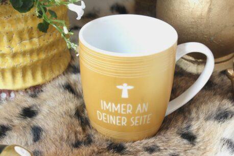Henkelbecher Sprüche Kaffeetasse Immer An Deiner Seite