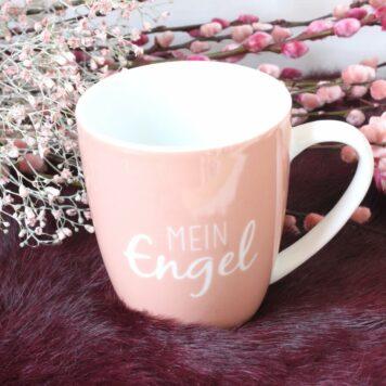 Henkelbecher Sprüche Kaffeetasse Mein Engel