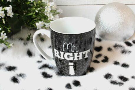 Henkelbecher Sprüche Kaffeetasse Mr. Right