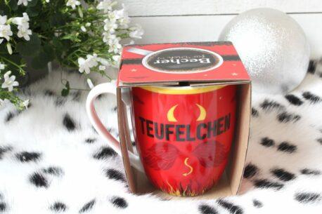 Henkelbecher Sprüche Kaffeetasse Teufelchen