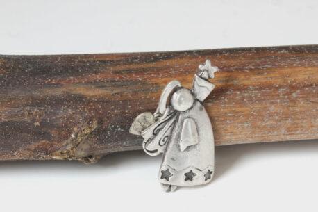 Hevi Schlüsselanhänger Taschenanhänger Engel mit Stern