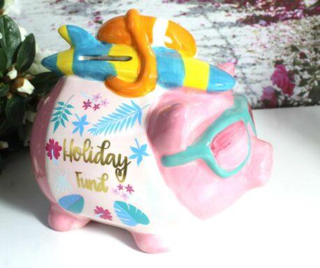 Pomme Pidou Spardose Sparschwein Holiday Fund