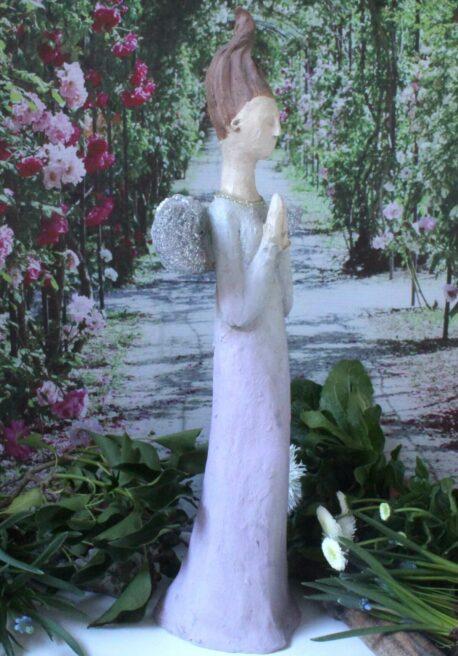 Dekofigur Schutzengel Elfe Pray for you