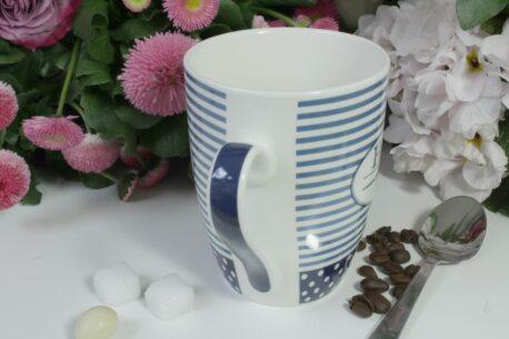 Henkelbecher Sprüche Kaffeetasse Herr der Lage