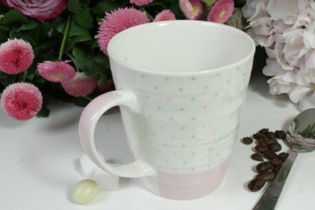 Henkelbecher Sprüche Kaffeetasse Heute ist mein Lieblingstag