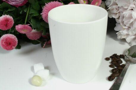 Henkelbecher Sprüche Kaffeetasse Vor dem ersten Kaffee Klappe halten