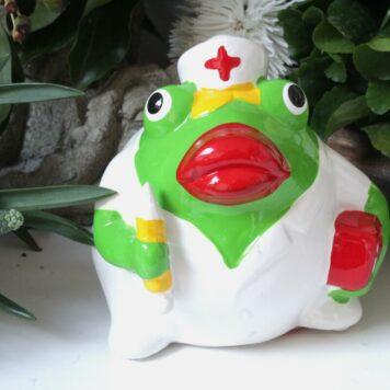 Pomme Pidou Spardose Frosch Freddy Medical