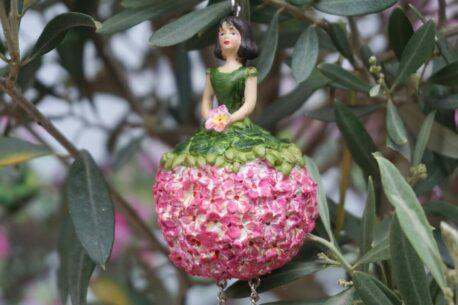 Deko Figur Dekohänger Blumenfee Blümchen