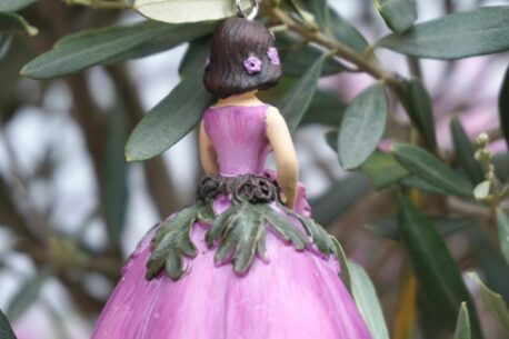 Deko Figur Dekohänger Blumenfee Flower Love