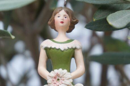 Deko Figur Dekohänger Blumenfee Flower Queen