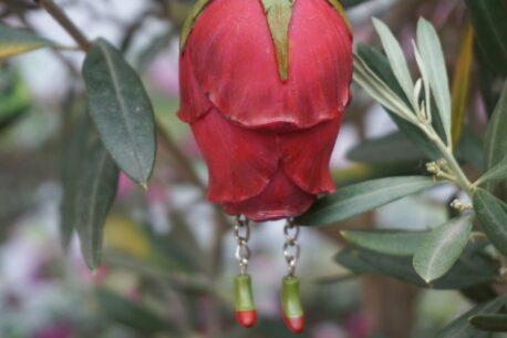 Deko Figur Dekohänger Blumenfee Flower Röschen