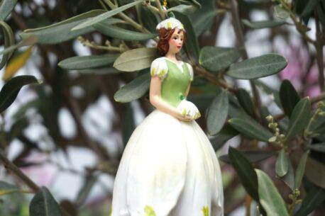 Deko Figur Dekohänger Blumenfee Kiss Blüte
