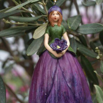 Deko Figur Dekohänger Blumenfee Mona