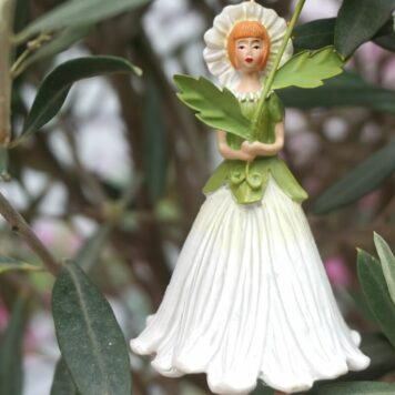 Deko Figur Dekohänger Blumenfee Sonnenblume