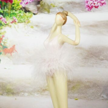 Ballerina Dekofigur Grazil Ballett Figur Tanz Pose Dance