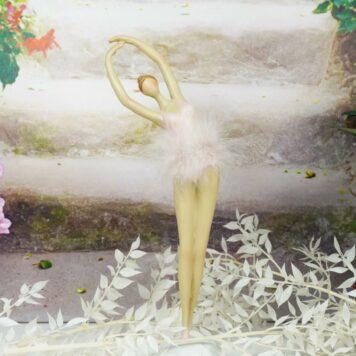 Ballerina Dekofigur Grazil Ballett Figur Tanz Pose Dream