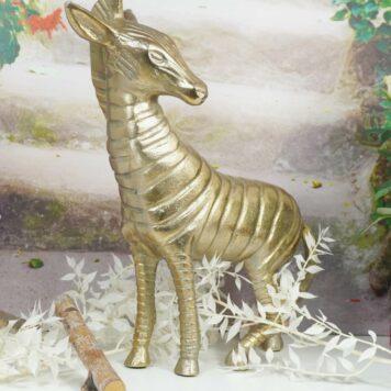 Colmore Alu Pferd Goldfarben