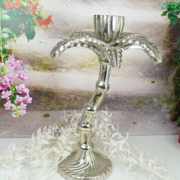 Colmore Edler Palmen Kerzenständer Kerzenleuchter 29cm Hoch