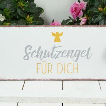 Deko Blechschild Schutzengel Für Dich